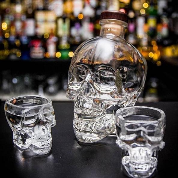 Image via Crystal Head Vodka