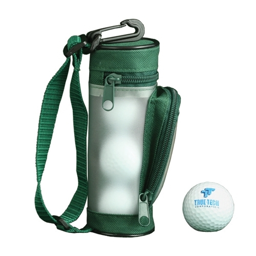 Play like the pros with this mini golf bag.
