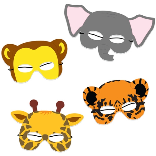 Celebrate zoo keepers with these fun animal masks.