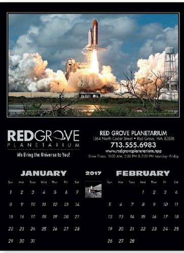 Keep space exploration at the forefront with this calendar.