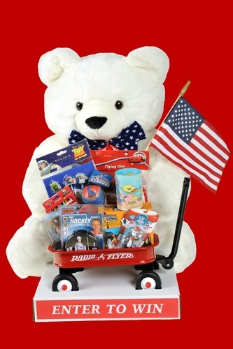 For any 4th of July BBQ, these giveaways are perfect.