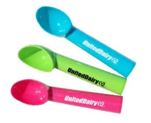 Host an ice cream social with these colorful ice cream scoops.