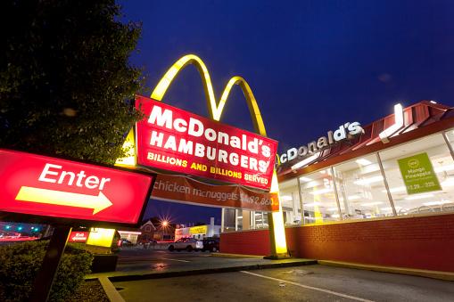McDonald's Hamburgers. Westbury, NY.